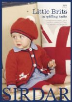 Sirdar Book 369 - Little Brits in spiffing knits - Sirdar Snuggly Baby DK